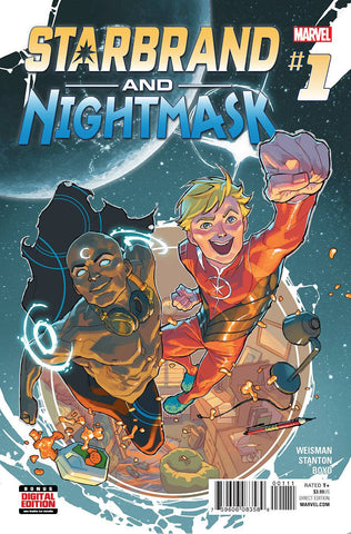 STARBRAND AND NIGHTMASK #1 - Packrat Comics
