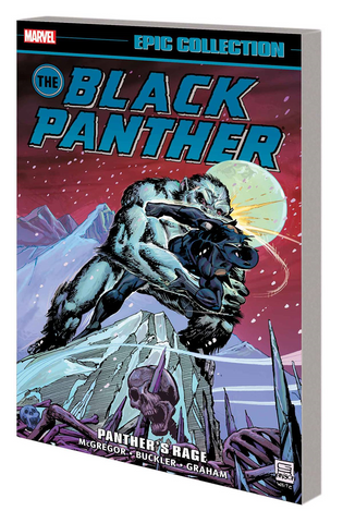 BLACK PANTHER EPIC COLLECTION TP PANTHERS RAGE - Packrat Comics