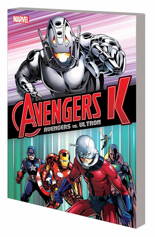 AVENGERS K TP BOOK 01 AVENGERS VS ULTRON - Packrat Comics