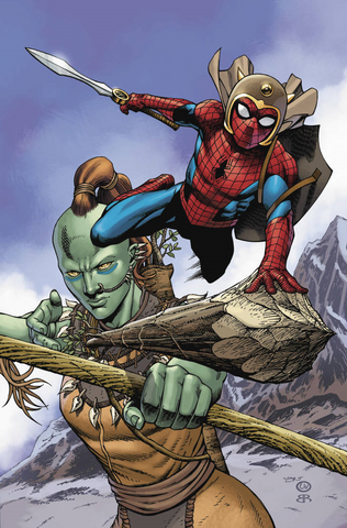 WAR OF REALMS SPIDER-MAN & LEAGUE OF REALMS #2 (OF 3) ARTIST - Packrat Comics