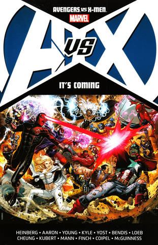 AVENGERS VS X-MEN TP ITS COMING - Packrat Comics