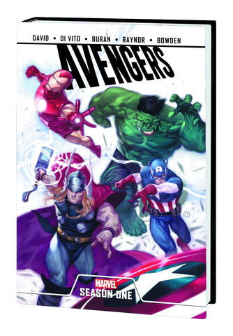 AVENGERS SEASON ONE PREM HC - Packrat Comics