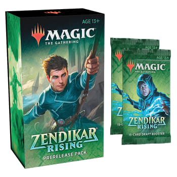 Zendikar Rising Prerelease Kit - Packrat Comics
