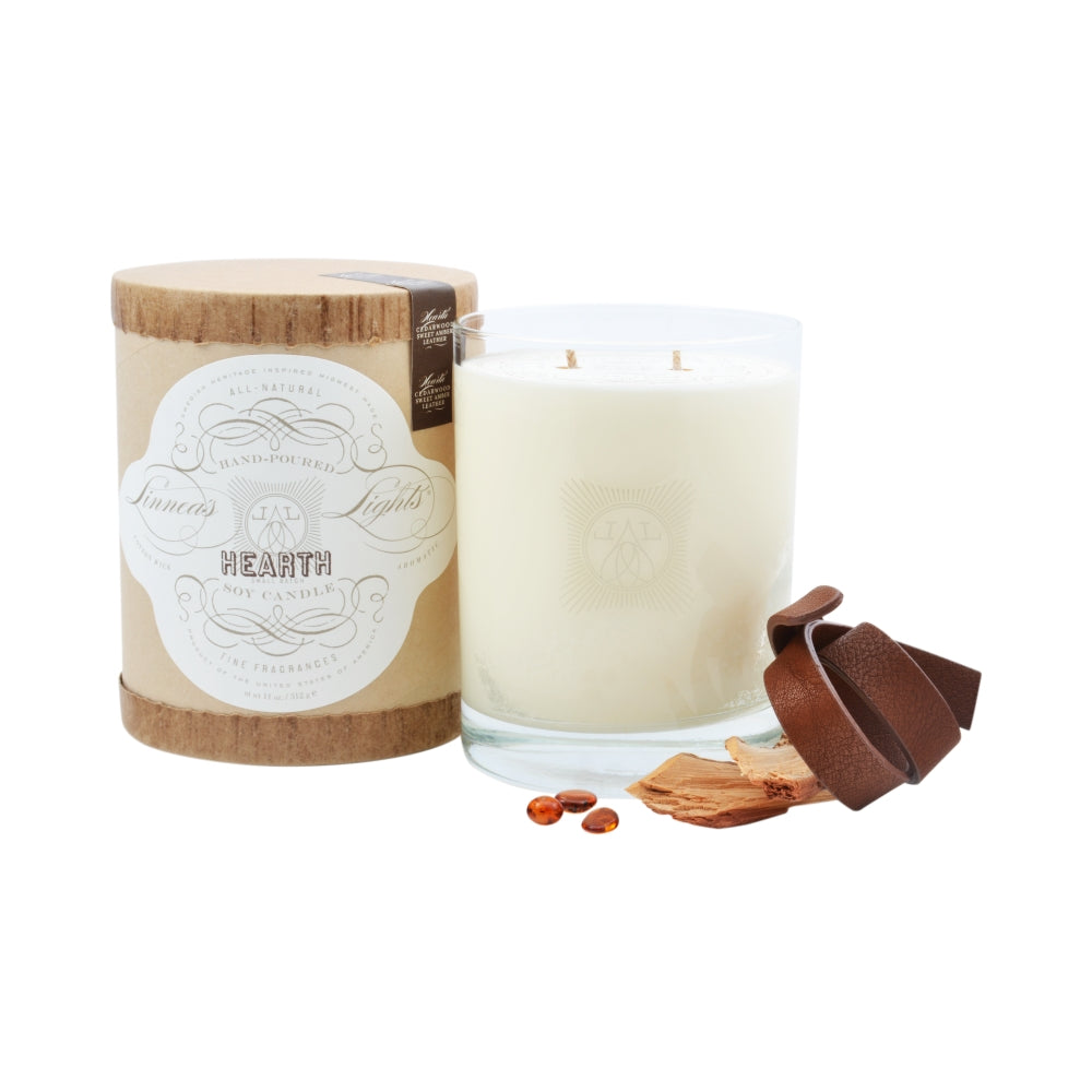Hearth, 2-wick Candle *seasonal*