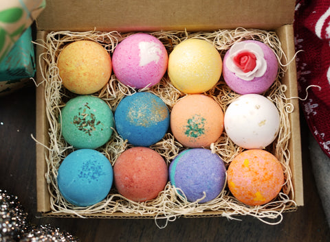 Top Staff Picked 12 Pack Bath Bomb Gift Set