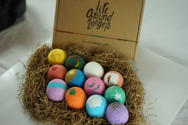 The Original 12 Pack Bath Bomb Gift Set