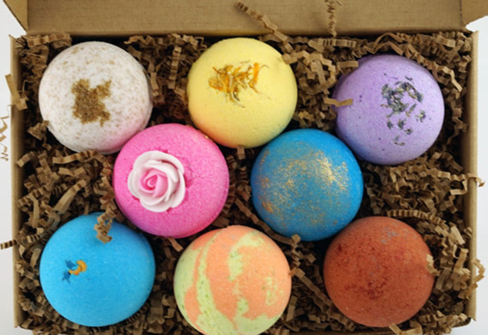 Top Selling 8 Bath Bomb Gift Set
