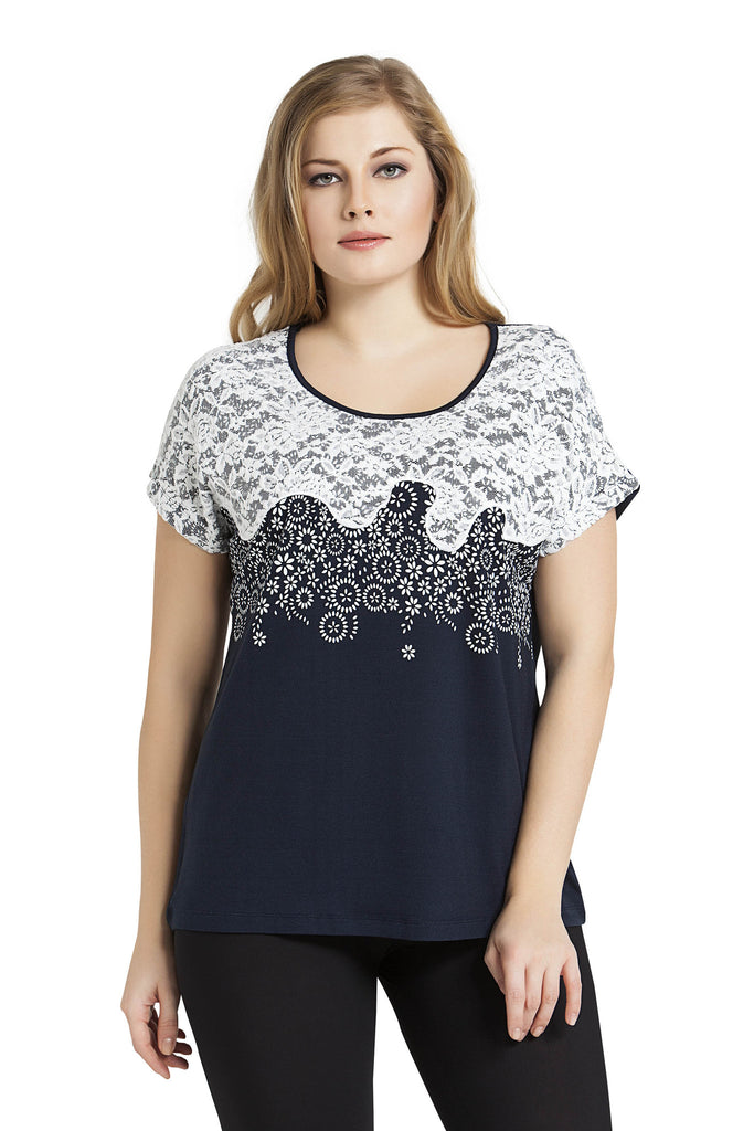 Flower Power and Lace Top