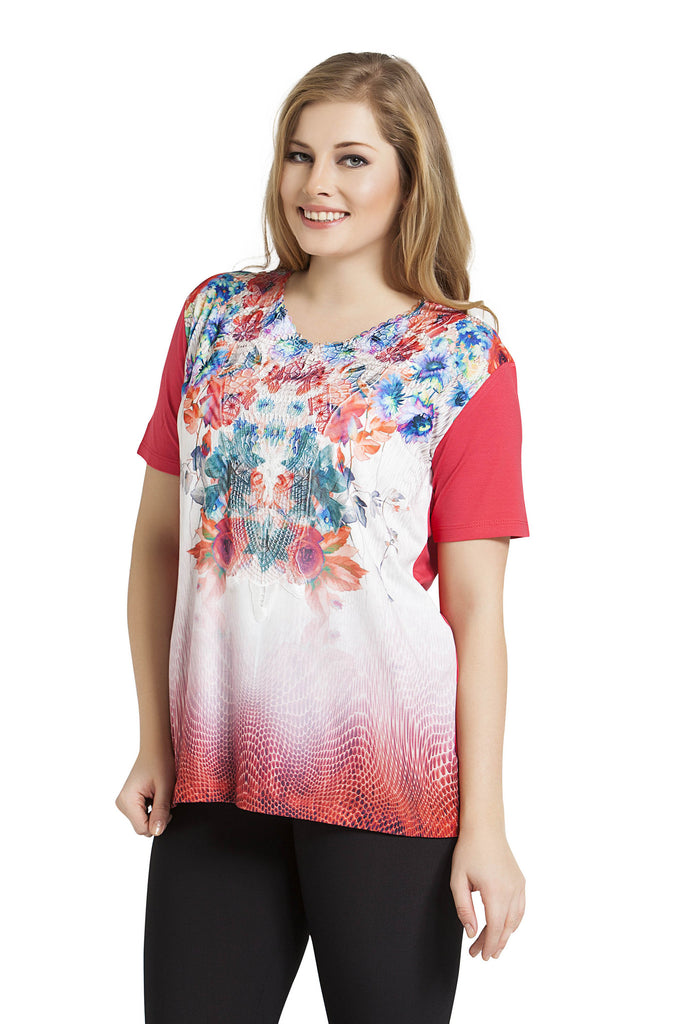 Exotic Blooms Top
