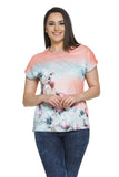 Floral Seascape Top