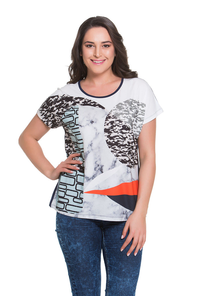 Abstract Artistry Top