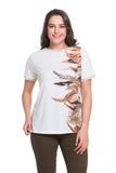Rustic Feathers Top