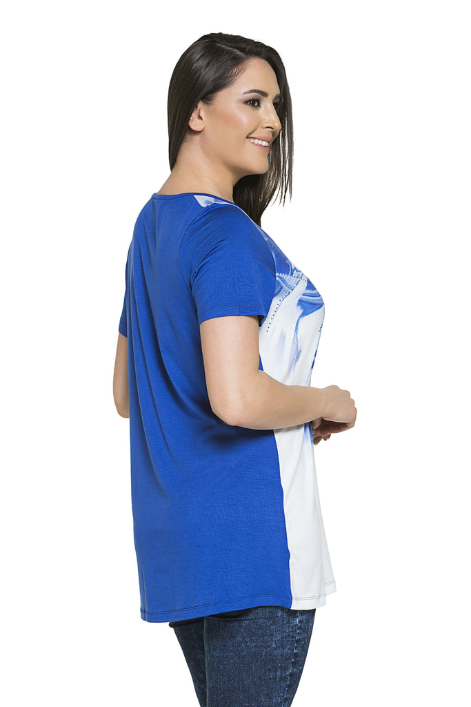 Blue Bahia Tunic