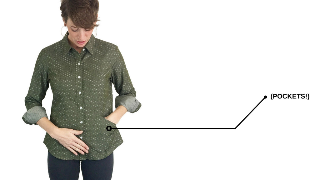 women's clothing with pockets