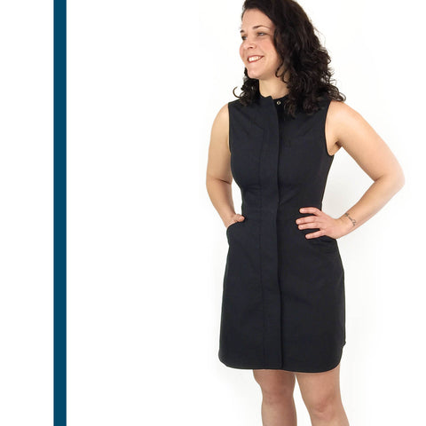 Stretch Core Dress with Pockets