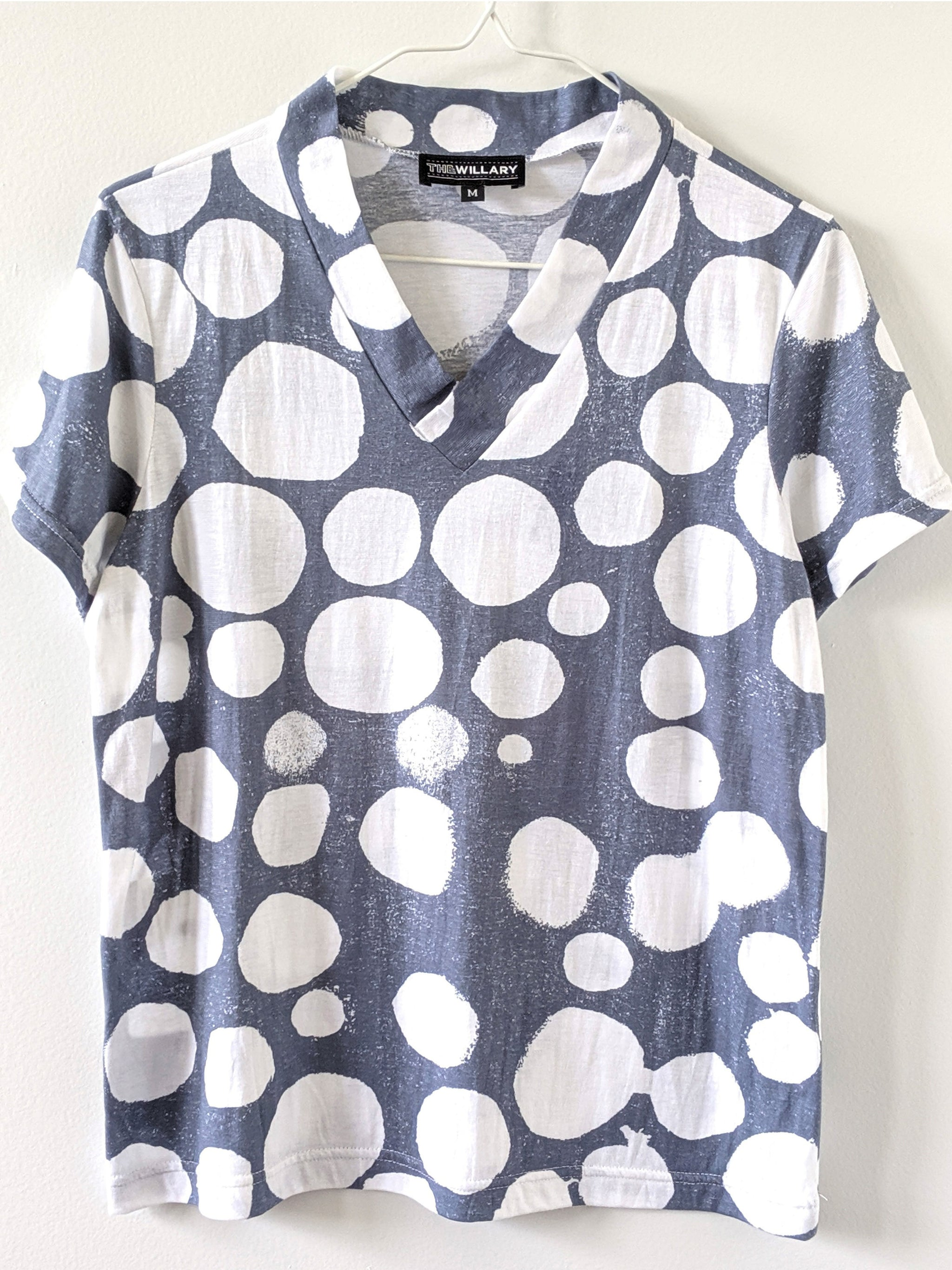 Workshop 5: Pop-Collar V-Neck Tee