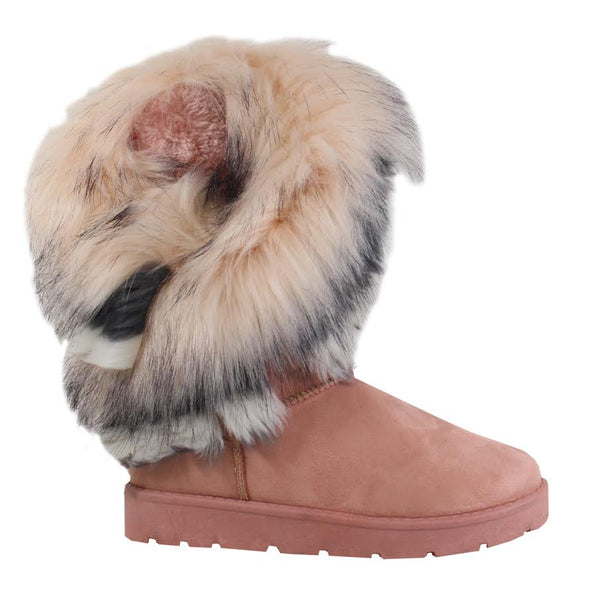 Furry Snow Boot