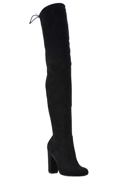 Chunky Over the Knee Boot