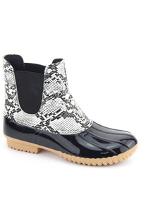 Short Snake Rainboot