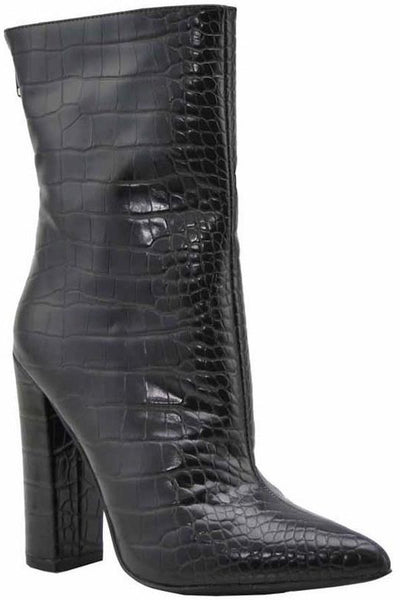 Crocodile Bootie with Heel
