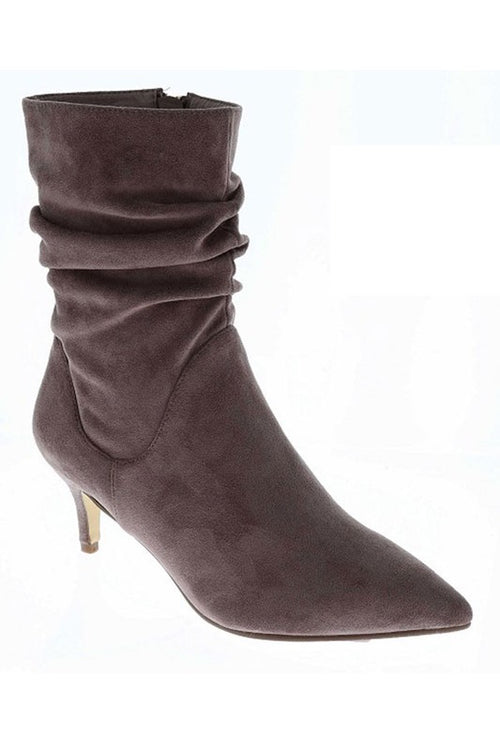 Short Layer Bootie with Short Heel