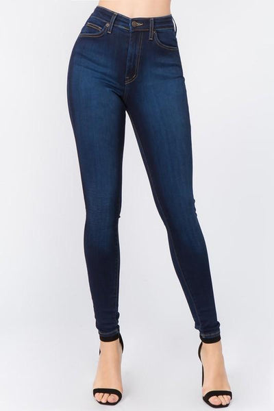 PLUS SIZE High Rise Skinny Jean