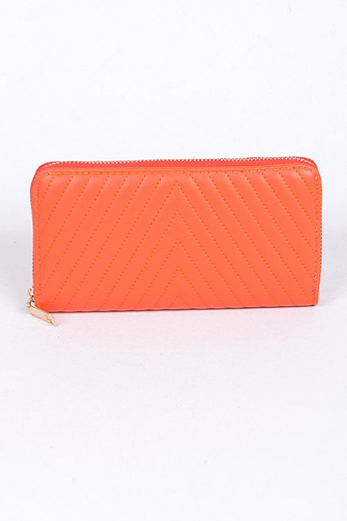Wallet with Zipper