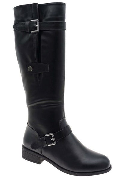 Tall Buckle Rider Boot