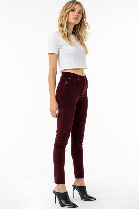 High Rise Colored Skinny Jean