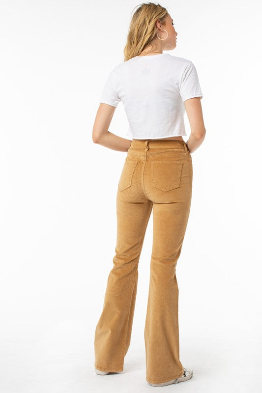 High Rise Basic Flare Skinny Jean