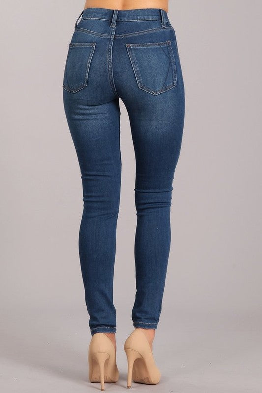 Kendall+Kylie High Rise Skinny Jean