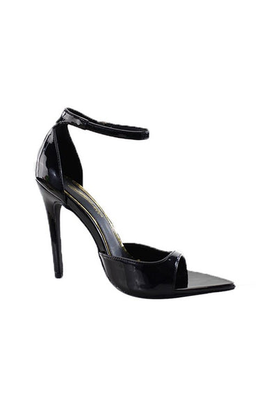Pointed Toe Patent Strap