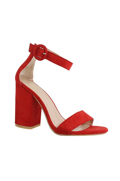Single Short Strap Heel