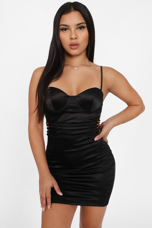 Spaghetti Strap Bodycon Mini Dress