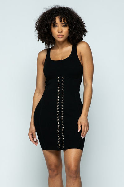 Corset Detail Dress