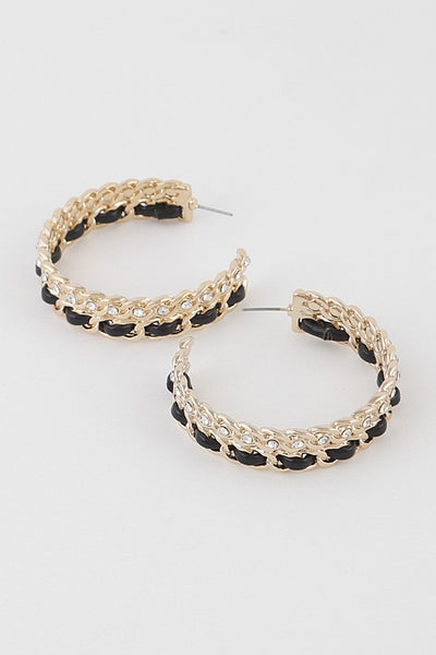 Mix N' Match Hoop Earrings
