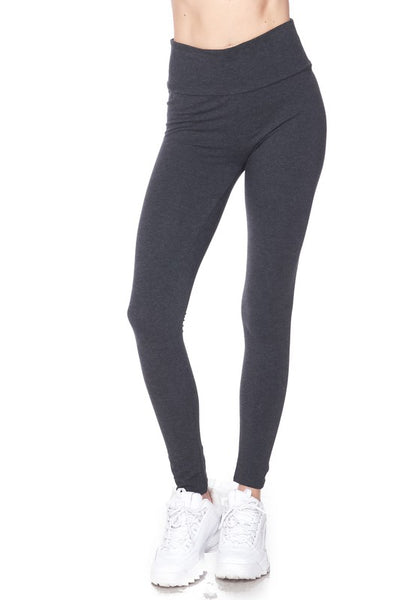 High Rise Cotton Legging