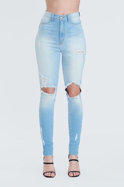 Destroyed Jeans