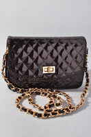 Quilted Patent Clutch