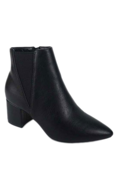 Short Side Elastic Bootie