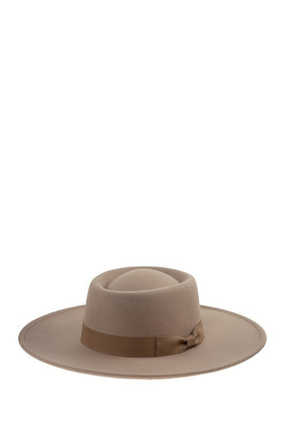 Round Sun Hat with Bow