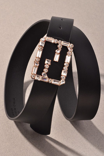 Large Assorted Crystal Rhinestone Belt