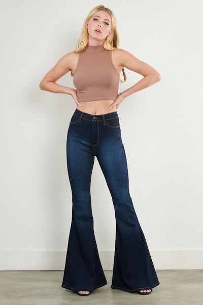 High Waisted Super Flare Jeans