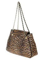 Leopard Flap Over Handbag