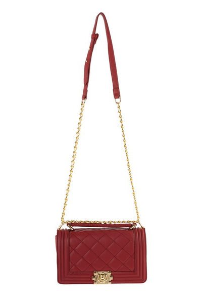 Quilted Jelly Crossbody Bag