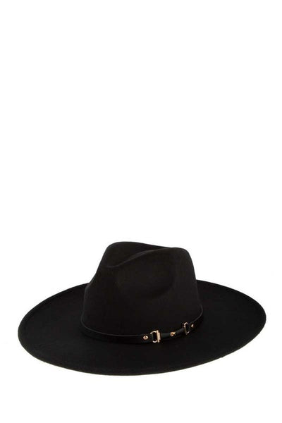Cowboy Hat with Black Band