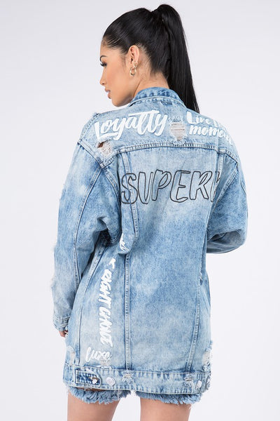 Superb Boyfriend Denim Jacket