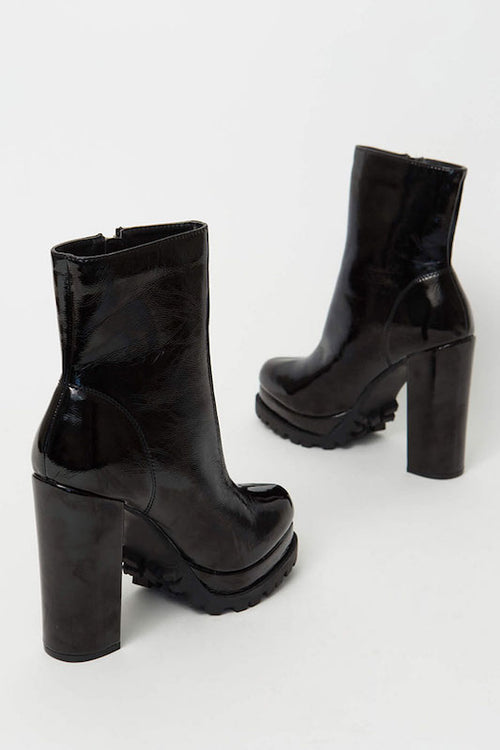 Platform Thick Ankle Bootie