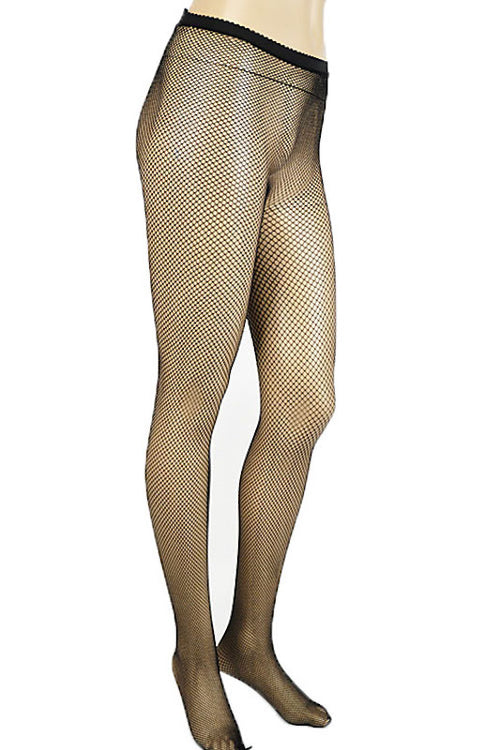 Small Hole Fishnet Stockings