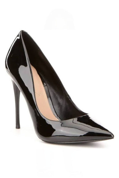 Patent Pointed Toe Pump